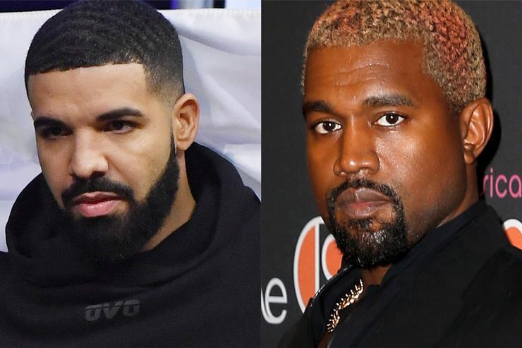 Kanye West contre Drake Une histoire complète
