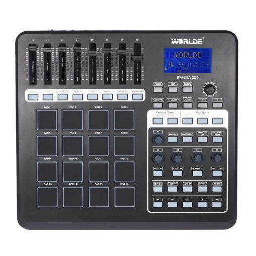 Boîte à rythme MIDI USB Contrôleur 16 Pads