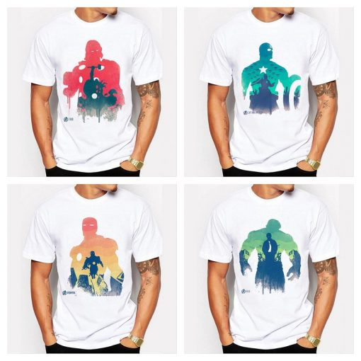 T-shirt The Personnages Avengers