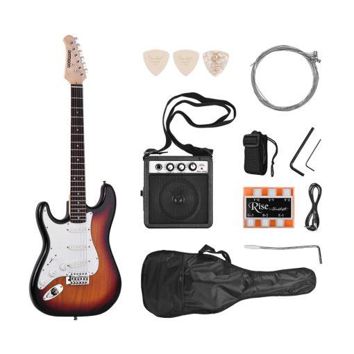 Ensemble Guitare Electrique accessoires et Haut-Parleur