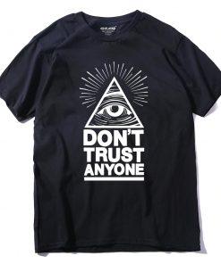 T-shirt Coton confiance à personne Hommes