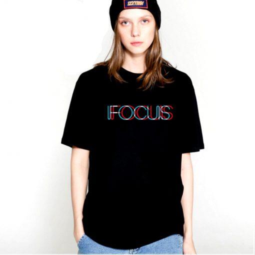 T-shirt 100% coton manches courtes Focus femmes