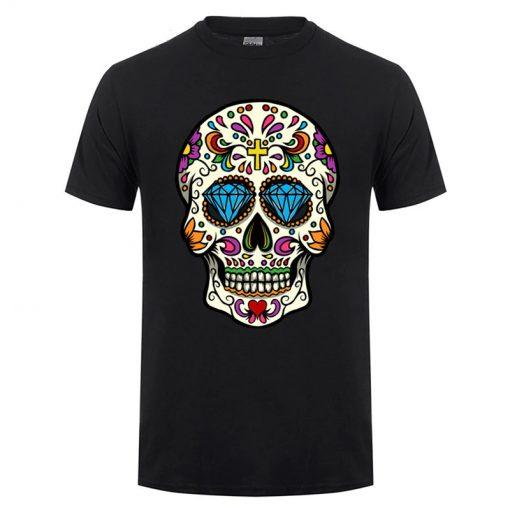 T-shirt Crâne Mexicain Kanye West Hommes