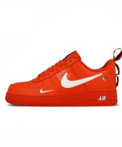 Nike Air Force 1 Af1 Rouge Hommes