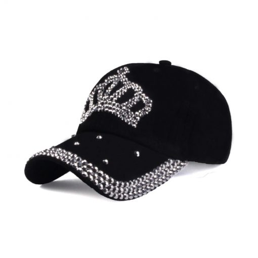 Casquette Strass Hip Hop King Couronne