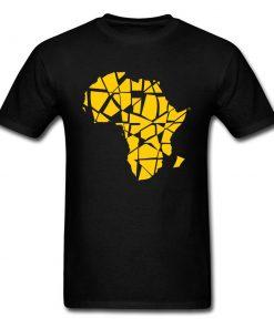 T-shirt Afrique manches courtes 100% coton