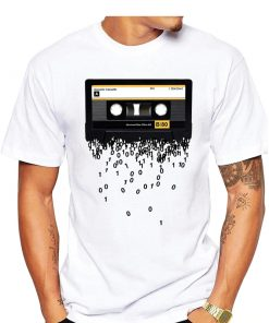 T-shirt Cassettes Rétro Musique 80 Hommes