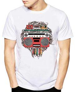T-shirt Poste Cassettes Vintage 70s 80s