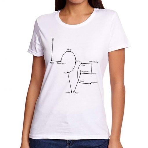 T-shirt amour connecté Femmes