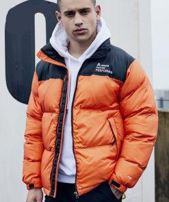 Manteau Chaud épais Design Hip Hop Streetwear