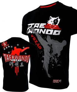 T-Shirt Hommes Taekwondo Fitness sport