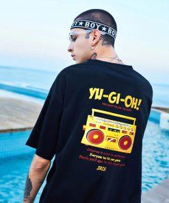 T-shirt 100% coton Mode hip hop Yu Gi Oh