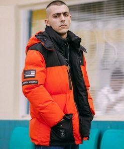 Manteau Capuche Style Hip Hop Hommes