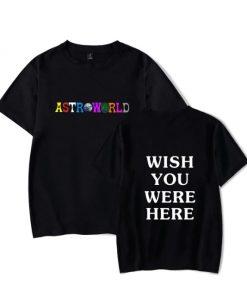 T-shirt Astroworld Mode Hip Hop Travis Scotts