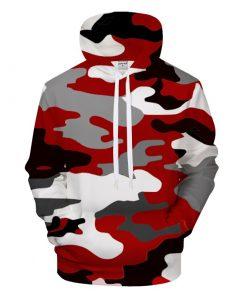 Sweat capuche Unisex Camouflage