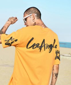 T-shirt Streetwear Los Angeles Hommes