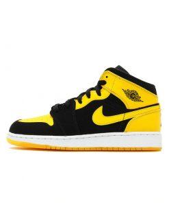 air force jordan jaune