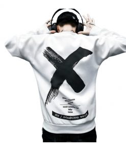 Pull Sweat Hommes Femmes Style Off White