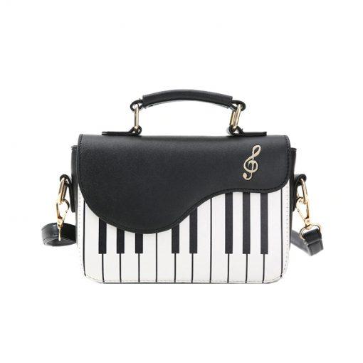 Sac bandoulière dames Piano Designer