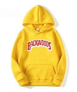 Sweats capuche Backwoods Hommes mode Hip Hop