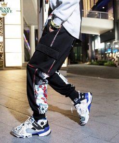 Pantalon Streetwear Dessin Graffiti Hip Hop