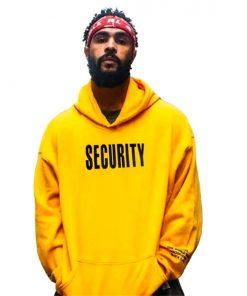 Sweat capuche Security Justin Bieber