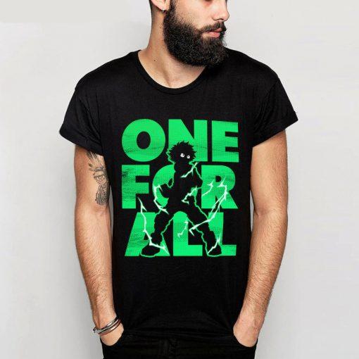 T-shirt Anime héros Un pour tous Streetwear