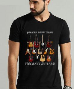 T-shirt Mode Musique Guitare électrique Hommes