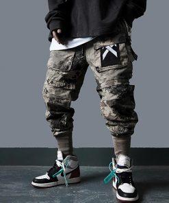 Pantalons Hip Hop Joggers Hommes Détachable multi-poche