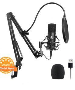 Kit de Microphone USB 192KHZ/24BIT micro professionnel