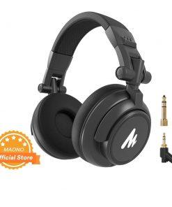 Casques de Studio DJ professionnels câble détachables